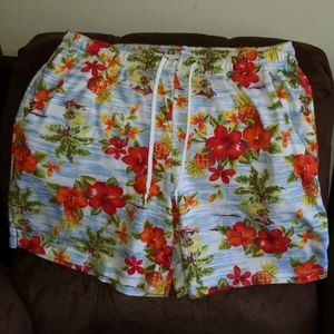 Pants - Tropical Hawaiian shorts Size 16/18 (PLUS XL)